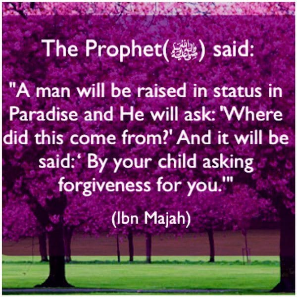 islamic quote on parents