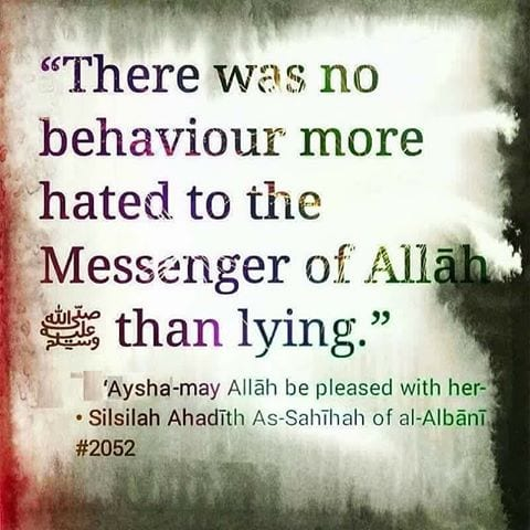 Islamic Quotes About Lying with Images (32)