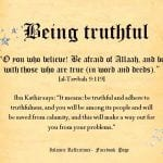 Quotes about not being truthful