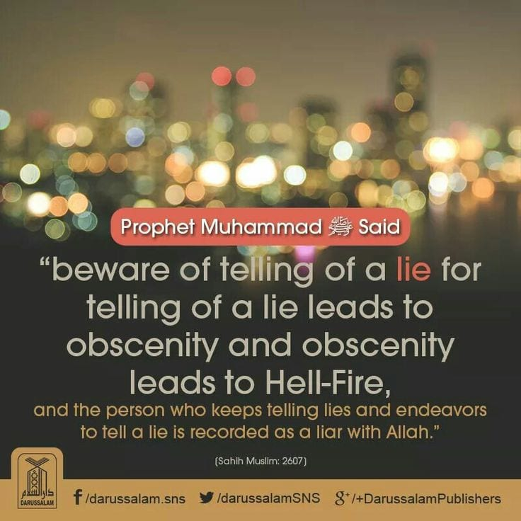 Islamic Quotes About Lying with Images (18)