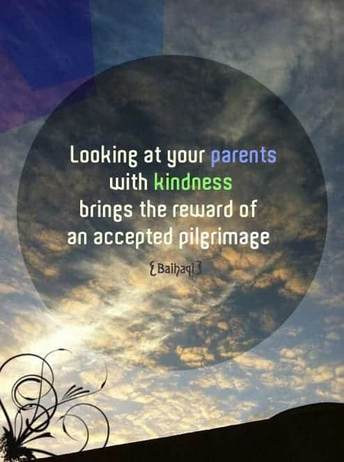 50 Islamic Quotes on Parents with Status of Parents