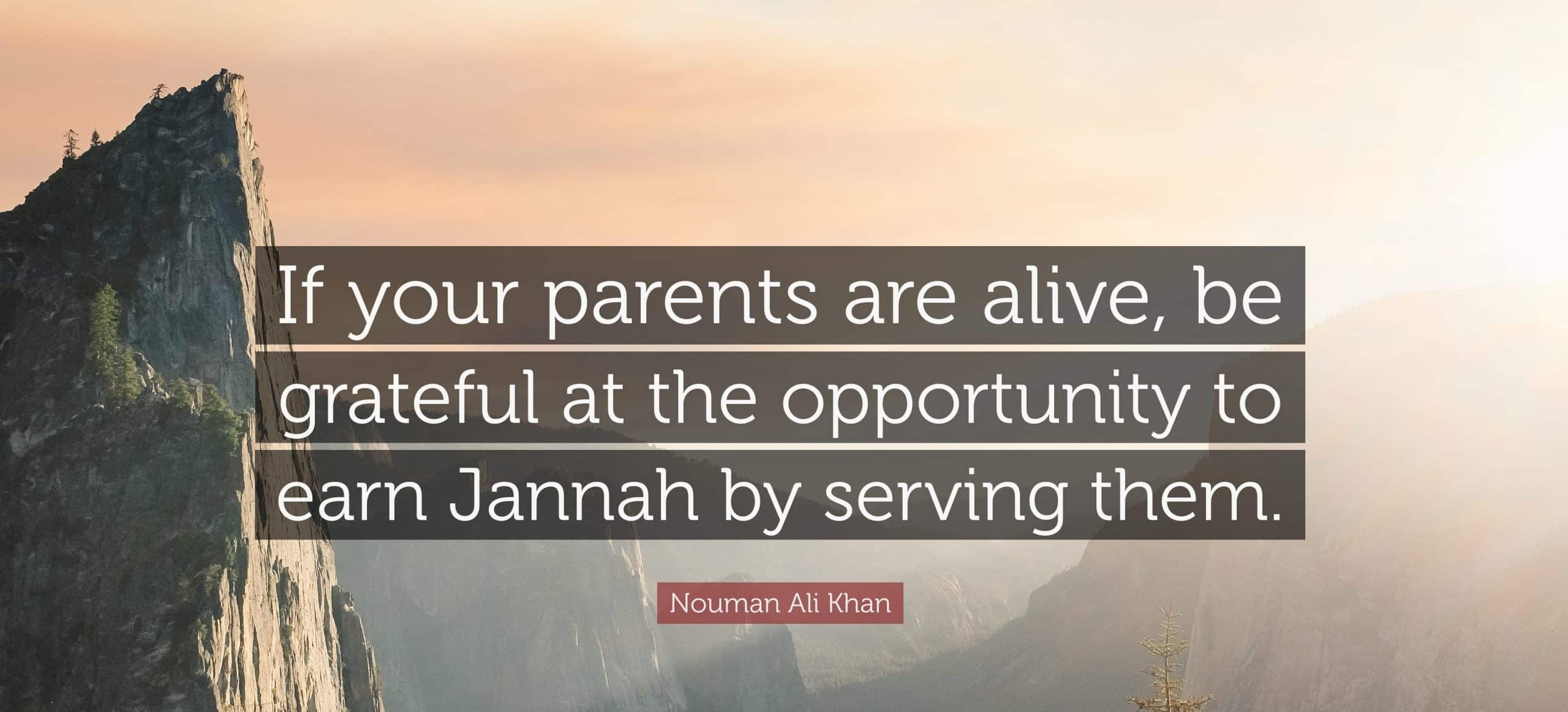 What islam says about parents