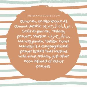 Meaning of Jumma