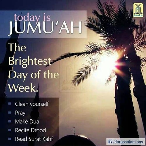 40 islamic jumma mubarak quotes with images and wishes bright day is friday m4hsunfo
