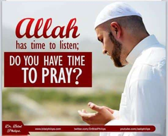 Make Time for Allah
