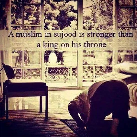 Muslim in Sajood is king