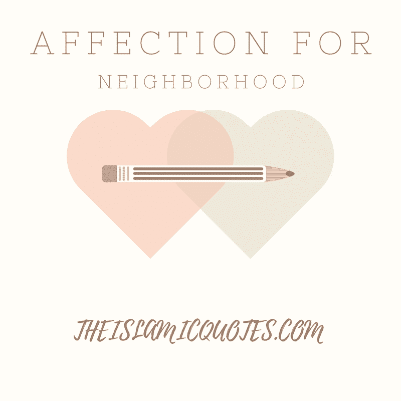Love for neighbors
