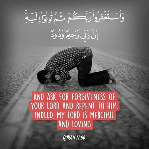 Seek Forgiveness