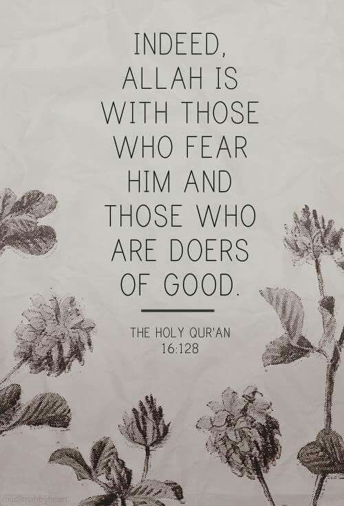Fear Allah only