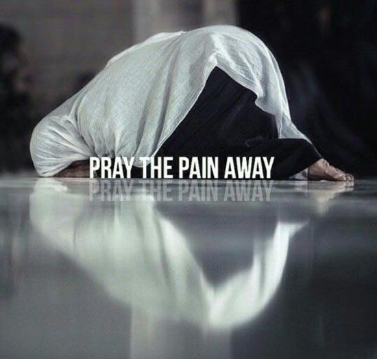 Prayer Takes away Pain