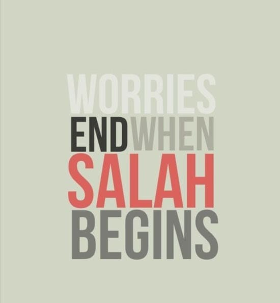 Salah in Hard times