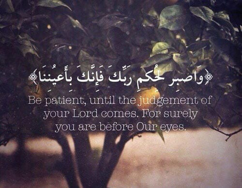 Fruits of Being Patient in Hard times