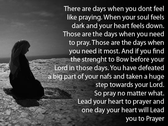 Prayer in Tough times