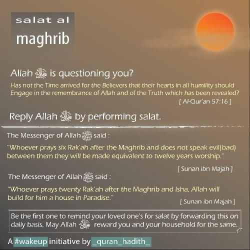 Importance of Maghrib