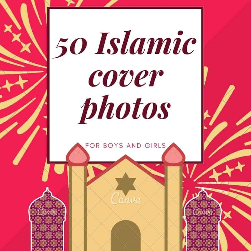 50 Islamiccover photos