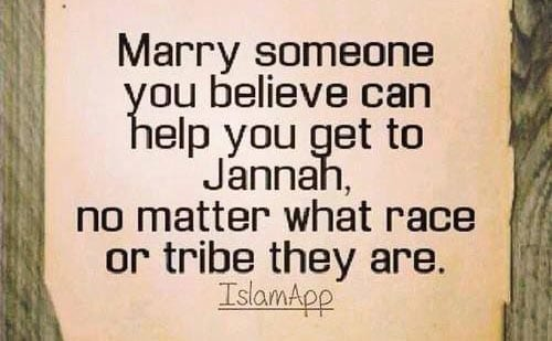 Love can take you to Jannah