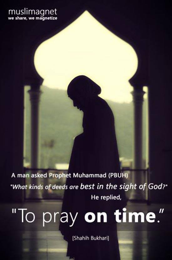 Pray On Time
