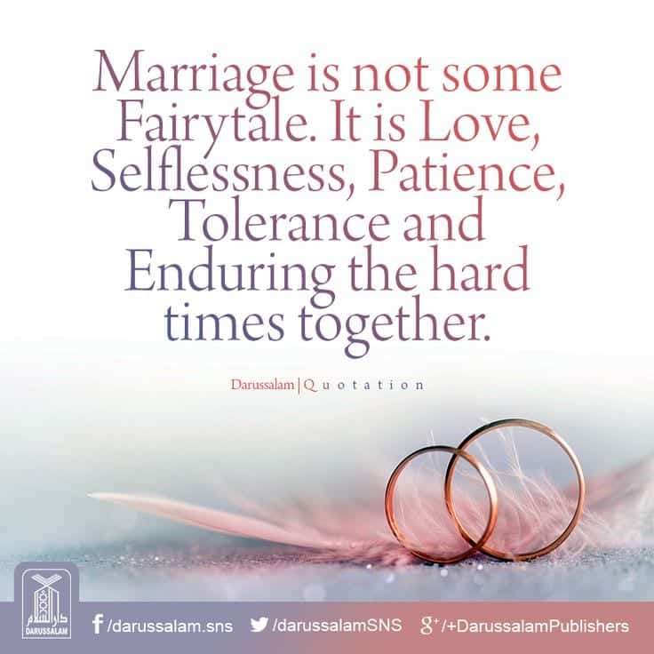Marriage is Not A FairyTale