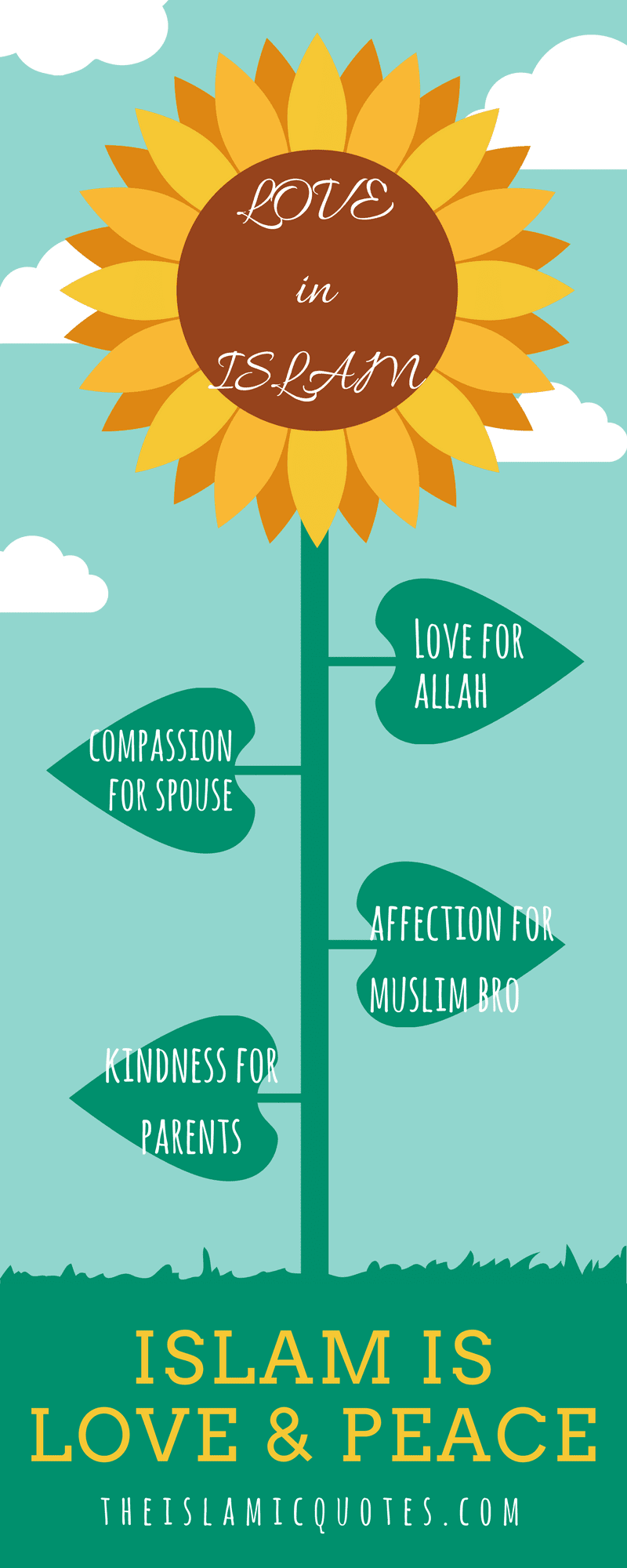 50 Best Islamic Quotes About Love With Images