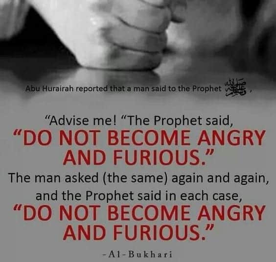 anger management in islam