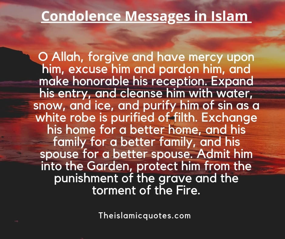Conditions Messages in Islam
