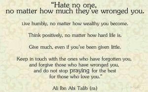 Best Quotes from Imam Hazrat Ali (29)