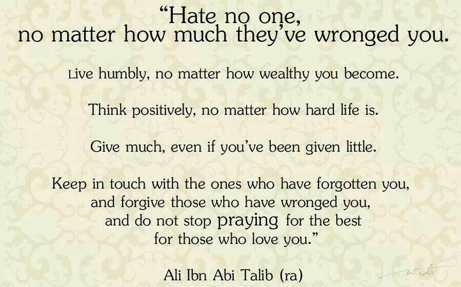 20 Best Quotes From Imam Hazrat Ali Sayings In English