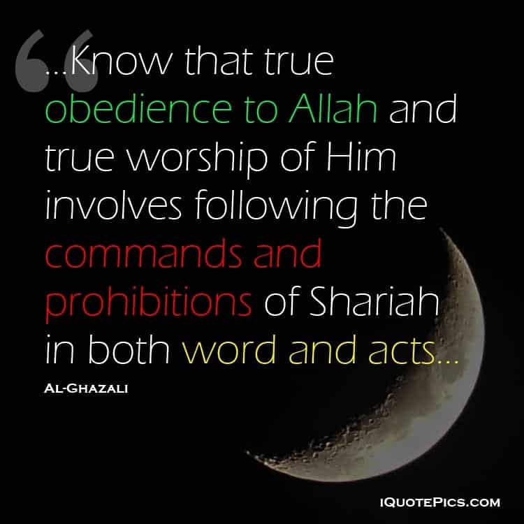 obedience to Allah