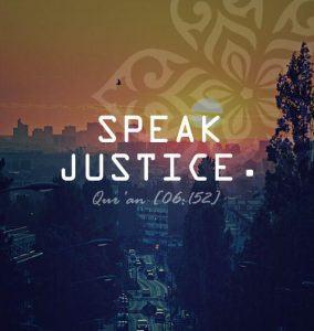 Speak Justice