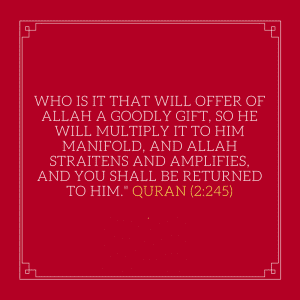 Inspirational Islamic Quotes About Charity (1)
