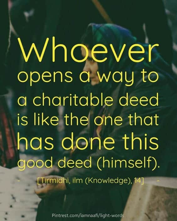 Islamic Quotes About Charity