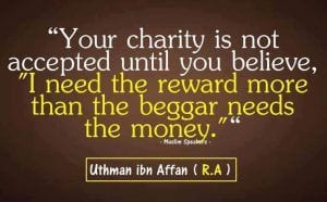 Inspirational Islamic Quotes About Charity (8)