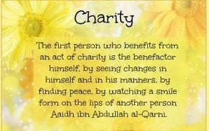 islamic quotes on charity