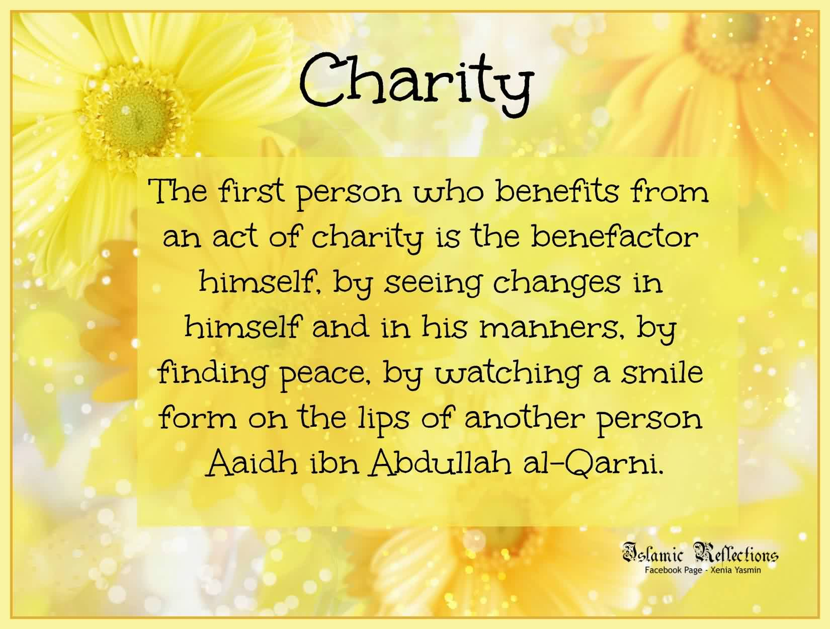 20 Islamic Quotes On Charity Aayahs And Hadiths On Sadqah