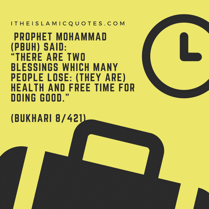 best islamic quotes about time importance of time in islam