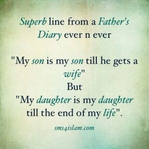 Islamic Quotes about daughters (6)