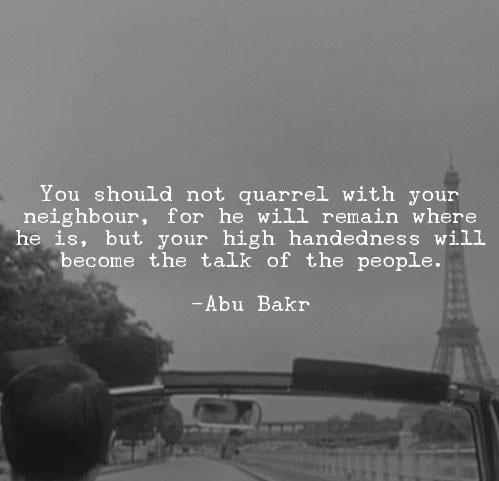Hazrat Abu Bakar R.A Quotes (18)