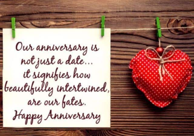 Elegant Best Anniversary Message For Wife