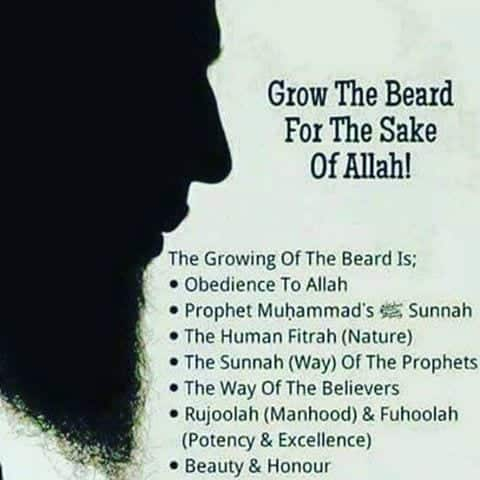 what islam says about beard
