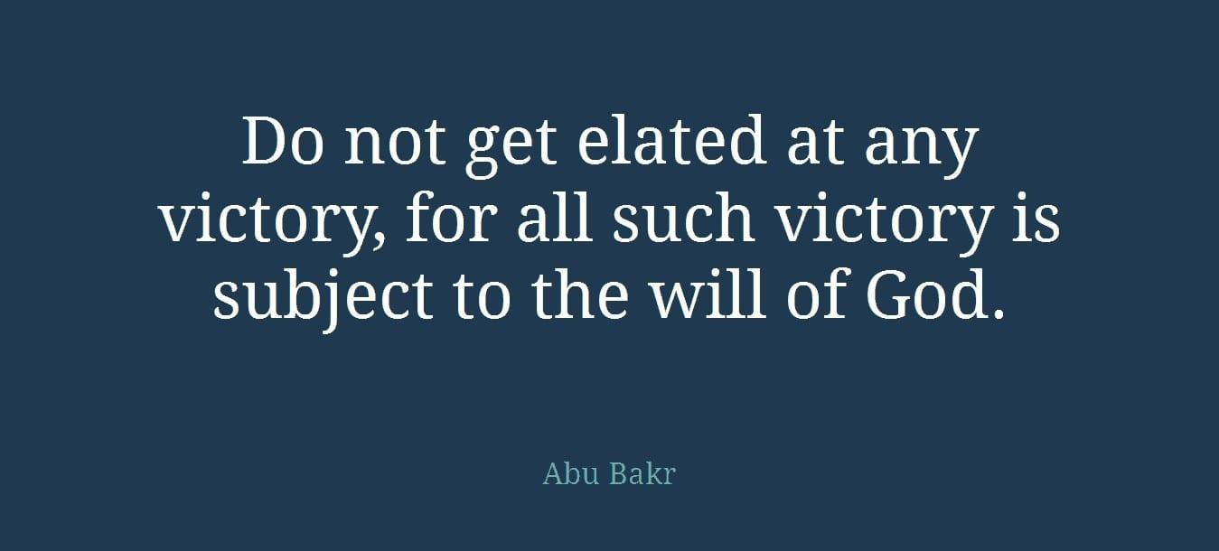 Hazrat Abu Bakar R.A Quotes (5)