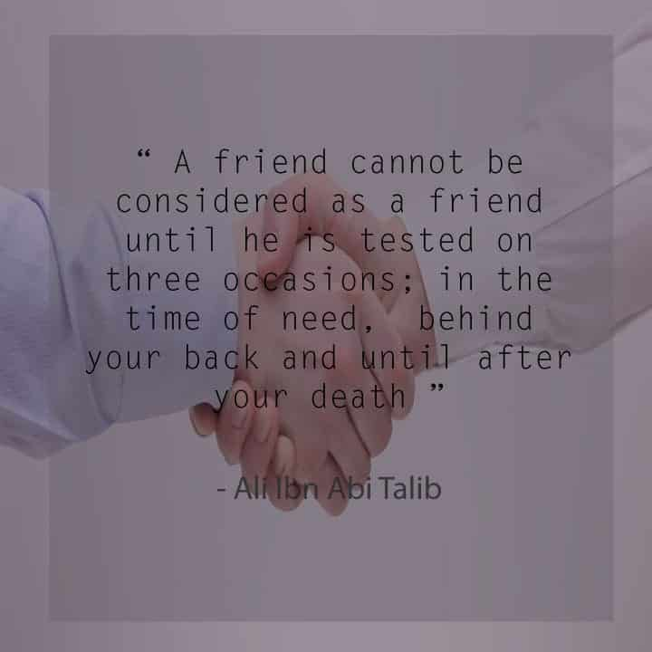 60 Best Islamic Quotes On Friendship Value Of Friendship Gorgeous Islamic Quotes About Friendship