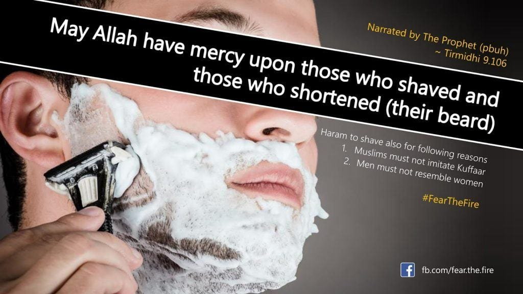 Islamic Beard Quotes