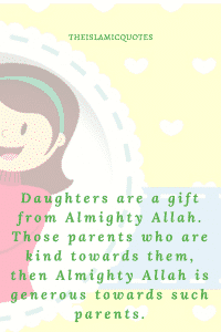 Islamic Quotes about daughters (11)