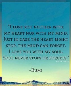Rumi Beautiful Quotes About Love. Life & Friendship (31)