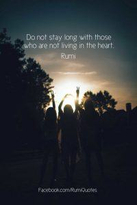 Rumi Beautiful Quotes About Love. Life & Friendship (9)