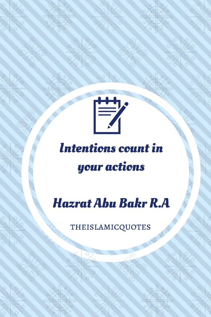 Hazrat Abu Bakar Saddique R.A Quotes (3)