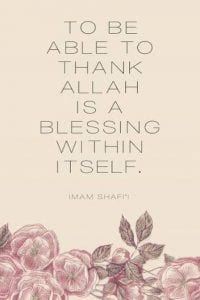Islamic Quotes on thanking Allah (26)