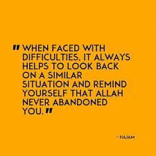 Quotes about hardships in life islam (45)