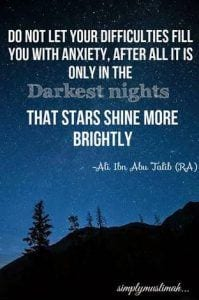islamic quotes about hardships in life
