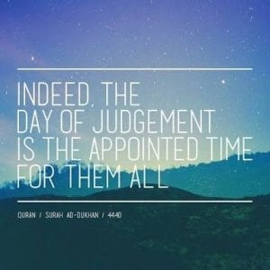 Judgement day quotes In Islam (1)